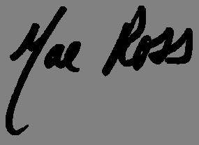 Mae Ross signature